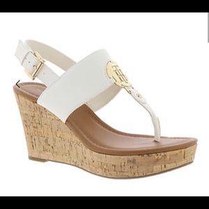 Tommy Hilfiger Manne Wedge Sandals